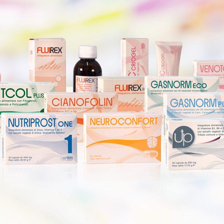 Catalogo prodotti Laerbium